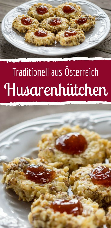 Traditionelle Weihnachtskekse österreich.Husarenhütchen Knusprige Plätzchen Aus österreich In 2019 Kekse
