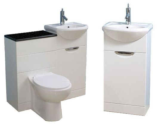 Dual Toilet And Sink Vanity Combo Perfect For That Tiny Home