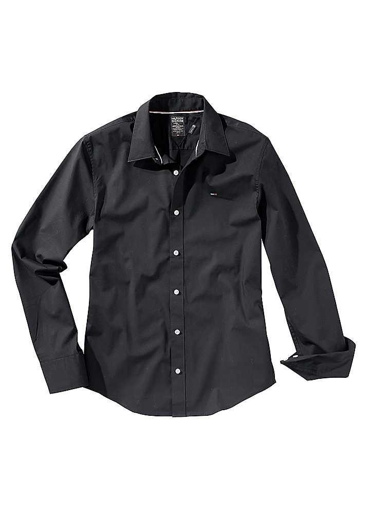 Tommy Hilfiger Tailored Shirt white Kent collar 1063750