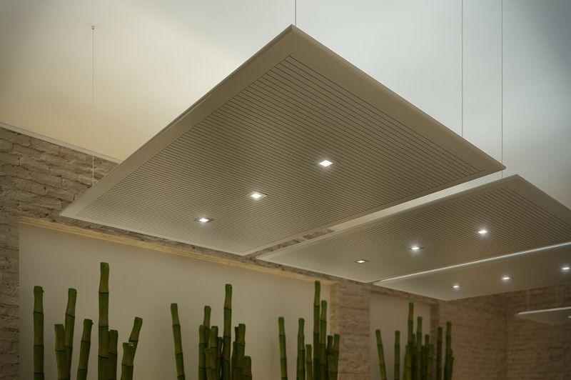Suspended Acoustic Ceiling Tiles | Tile Design Ideas