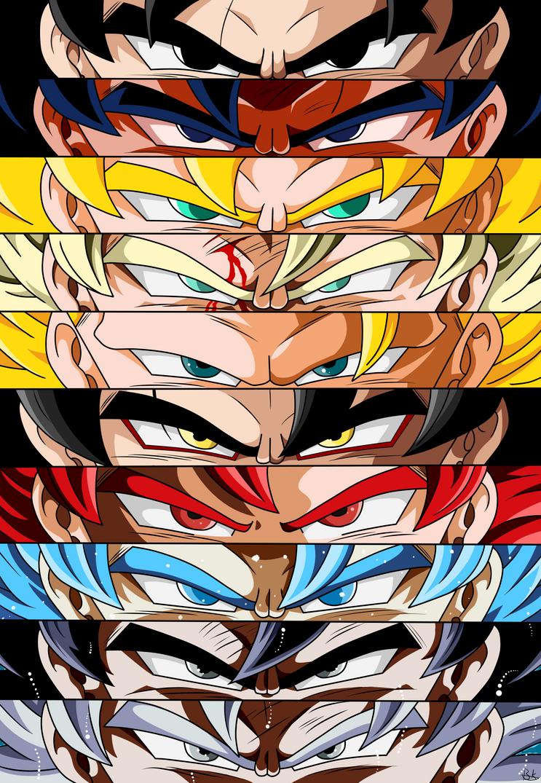 Son Goku The Super Saiyan by deriavis on DeviantArt