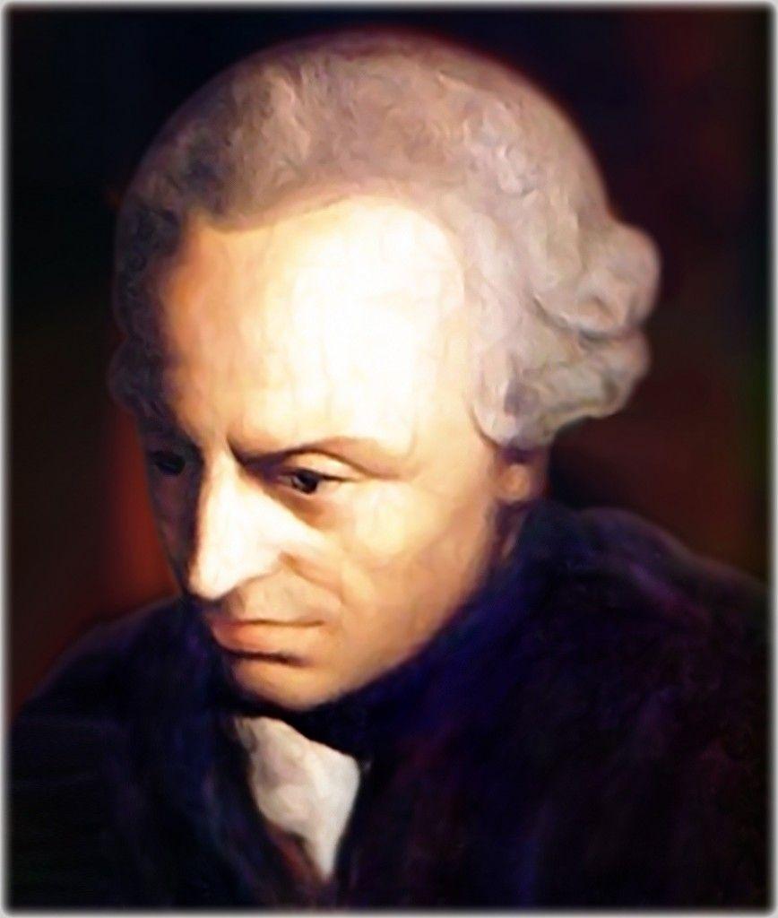 Immanuel Kant Philosopher High Resolution Portrait