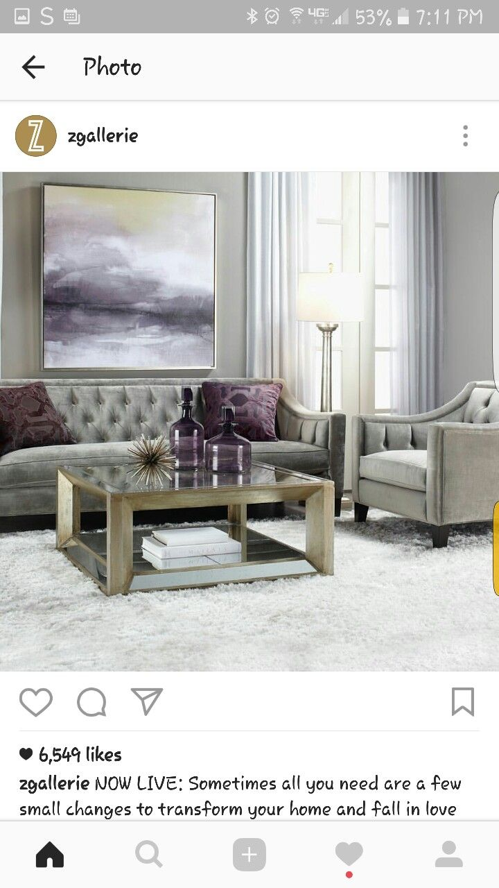Z gallerie living room | Furniture | Pinterest | Living rooms and Room
