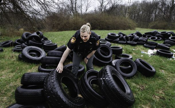 Dayton, Ohio-Task force goes after illegal dumpers- With an