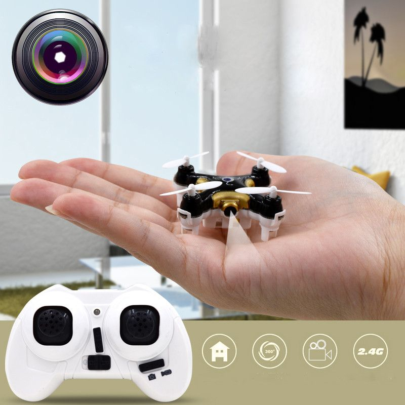 Mini Rc Helicopter CX 10C Plane Drone Quadcopter With Camera 30w LED Light 2.4G 4CH 6 Axis 3D Roll Drone