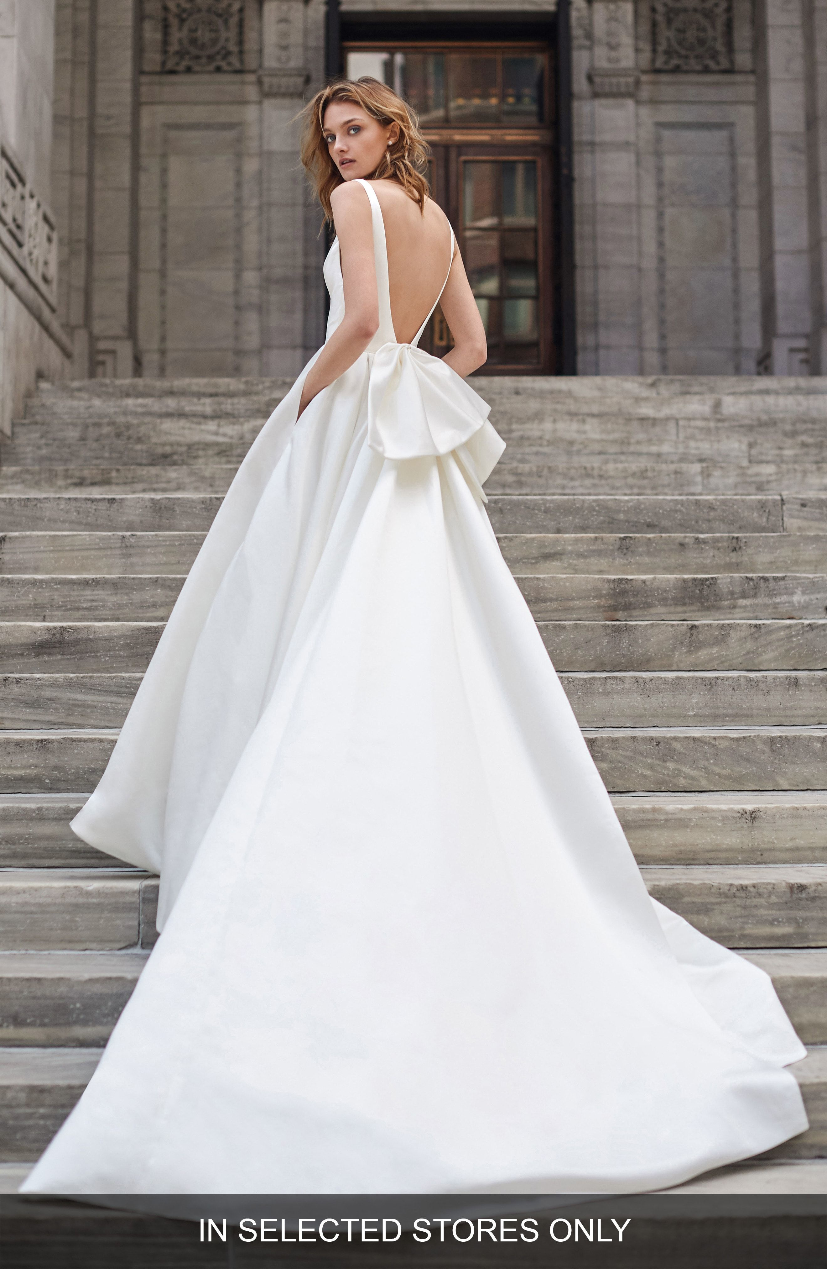 12+ Simple satin wedding dress bow information