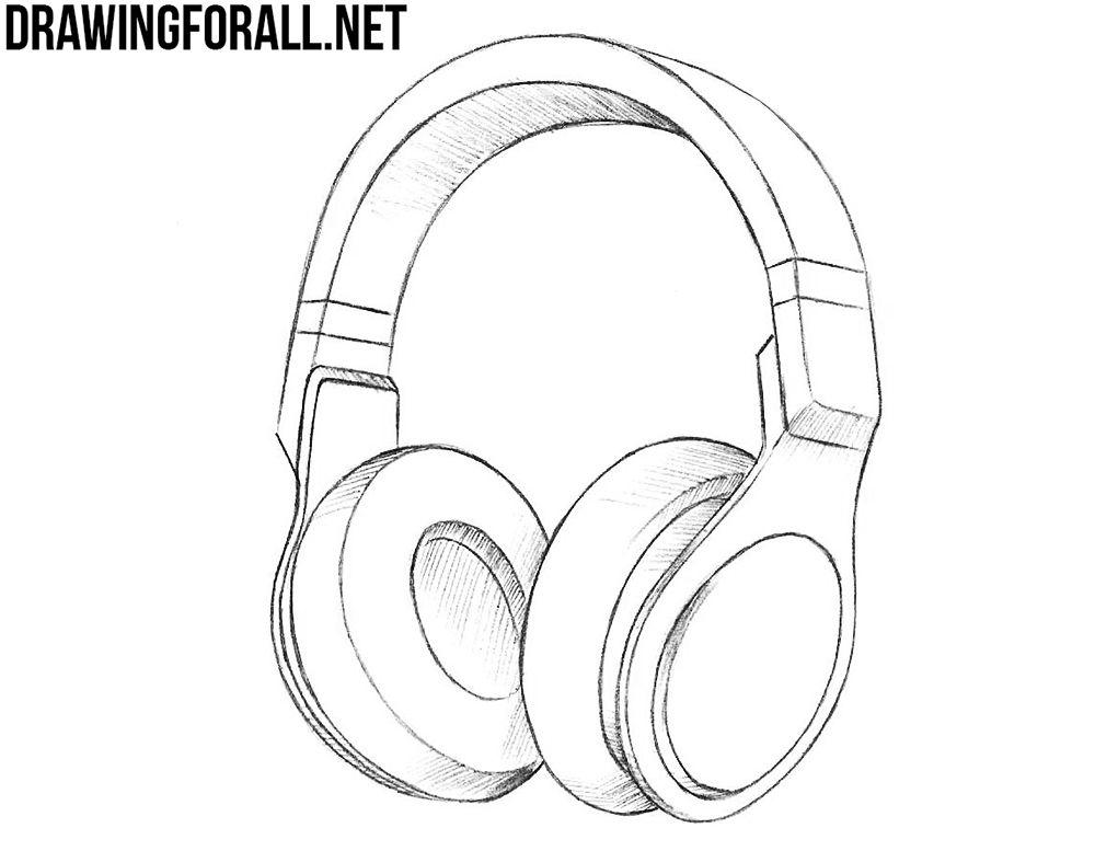 All Your Base Are Belong To Us Headphones Drawing Headphone Sketch Headphones
