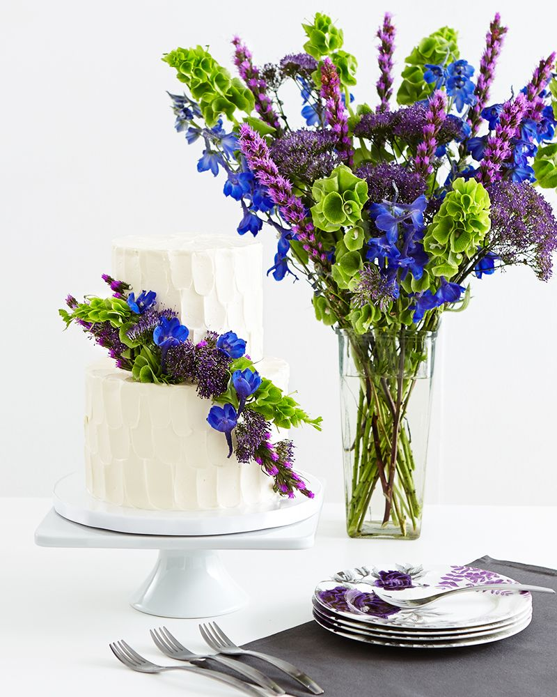 Sweet blooms bouquets meet birthday cakes cake