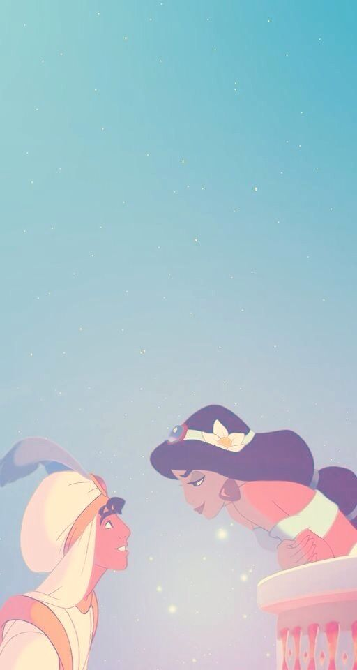 Jasmine And Aladdin Disney Phone Wallpaper Disney Wallpaper
