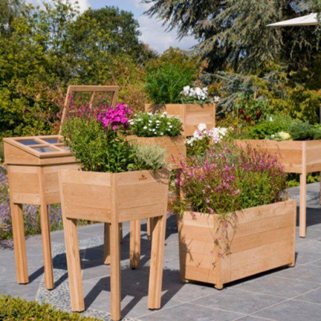 un jardin potager au balcon jardin potager jardins et jardin potager. Black Bedroom Furniture Sets. Home Design Ideas