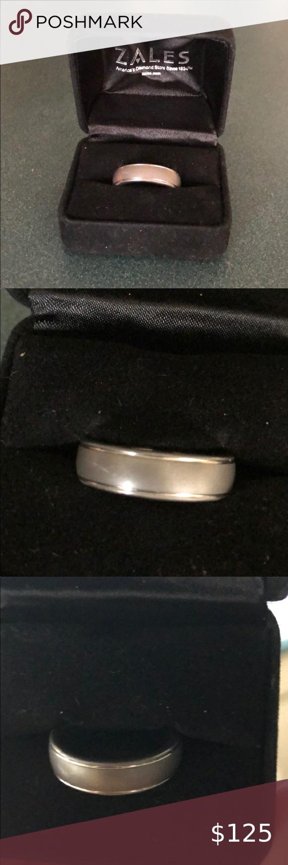 Zales Jewelers Men's Rings : zales, jewelers, men's, rings, Men's, Tungsten, Wedding, Ring,, Rings, Tungsten,, Rings,