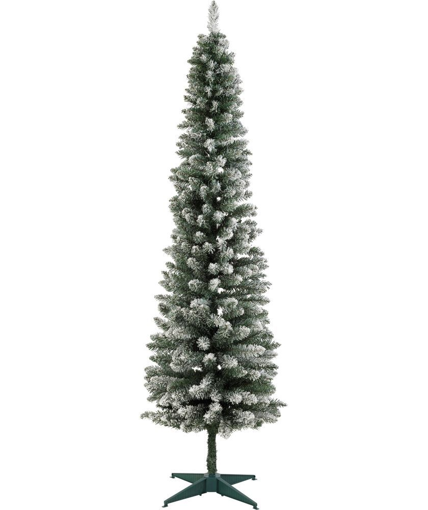 6b1272b0ed43 Buy Green Snow Tipped Pencil Christmas Tree - 6ft at Argos.co.uk - Your  Online Shop for Christmas trees.