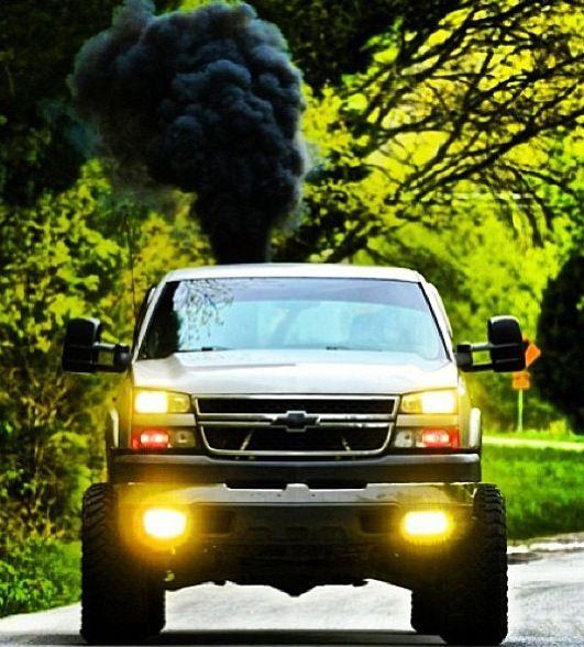 rollin coal roll coal diesel trucks lifted trucks chevy trucks pinterest