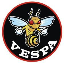 VESPA MODS FLYING WASP SCOOTER STICKER