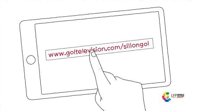 Spot de grafismo animado para GOL TV encargado por TAPSA-Y&R