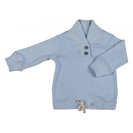 Jut en Juul Lifestyle for Kids : Baby Shirt  - Jip Baby Blue lichtblauw