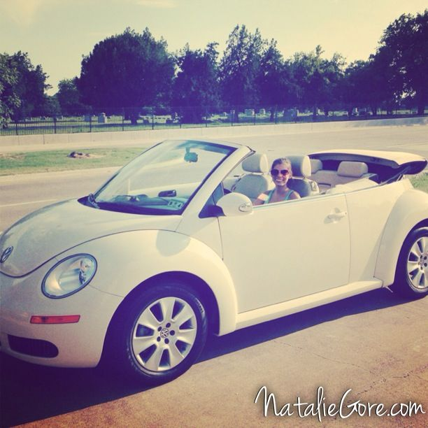 VW Bug Convertible My 3rd Favorite Car I've Owned!