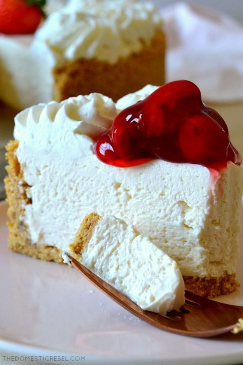 Best Ever No-Bake Cheesecake