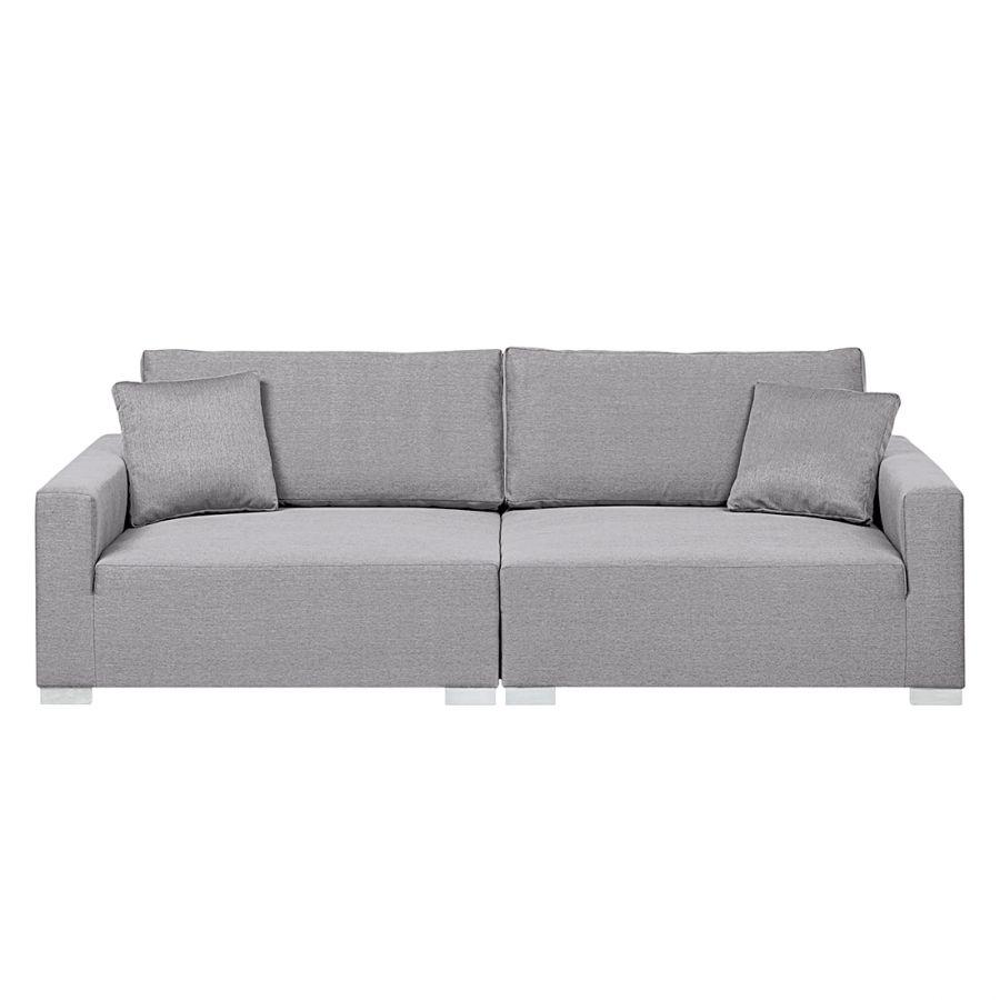 Grand canapé Latina - Textile gris