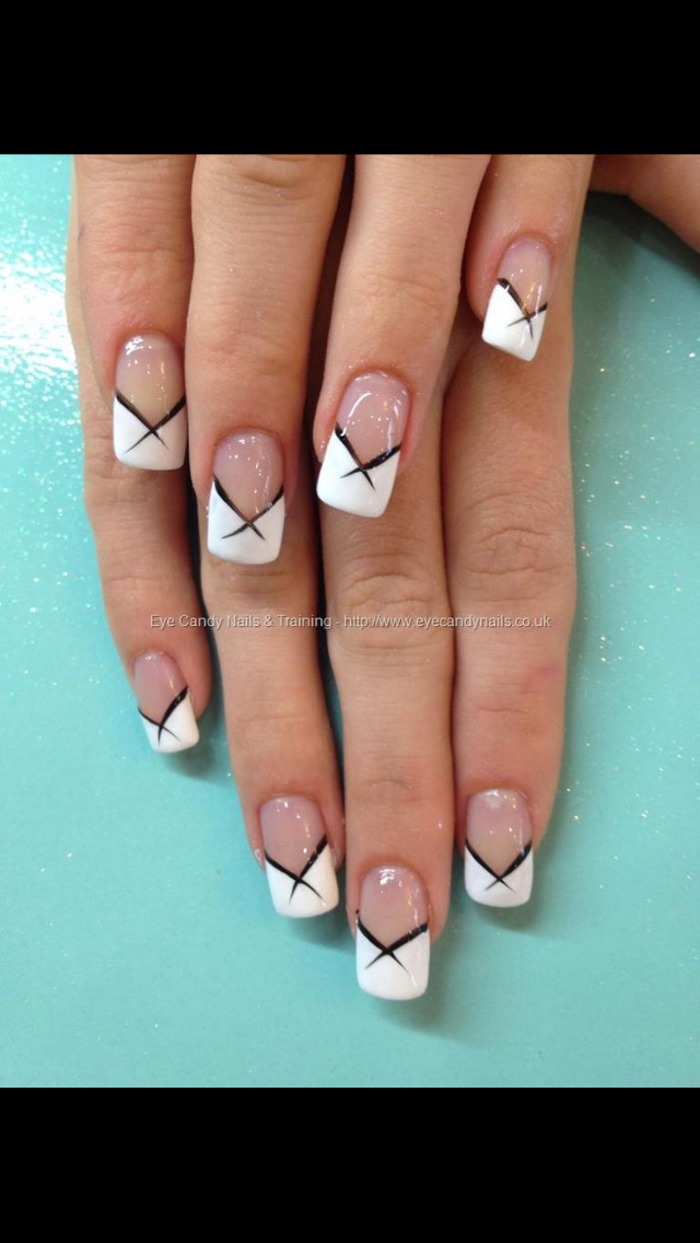 Pin by Louann Barnes on Hair•Nails | Pinterest | French nails, Color ...