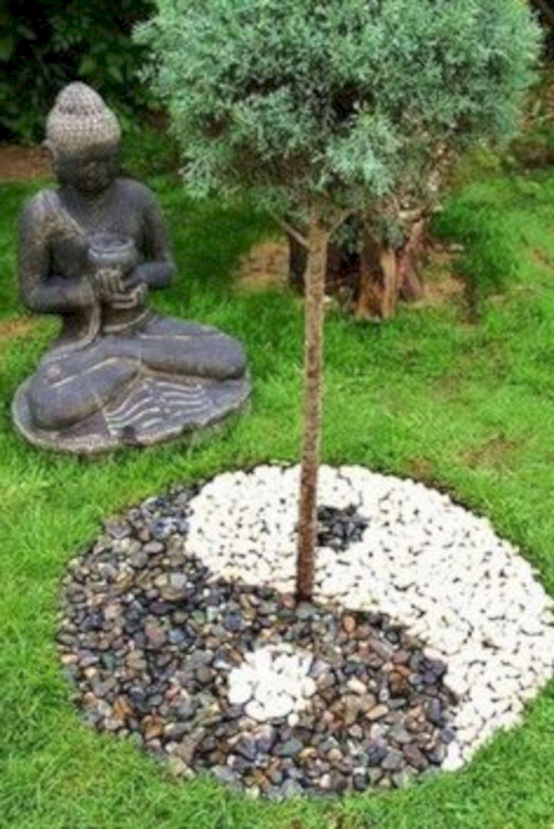 76 Beautiful Zen Garden Ideas For Backyard 380 #flowergardenplanningideas.  Meditation ...