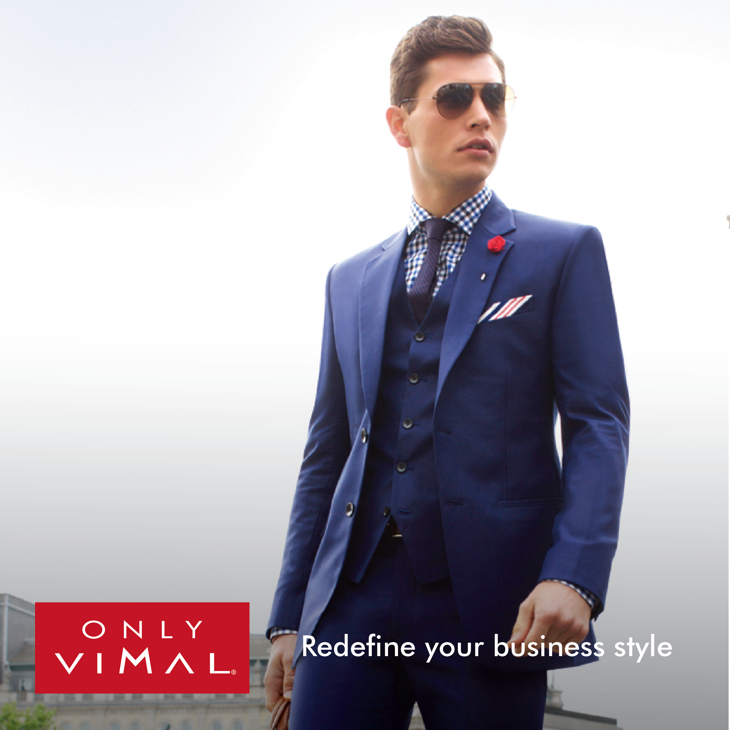 808caf1819 Define & differentiate your business style with rich & classy clothing  solutions from the house of Only Vimal. #FashionForMen #Menswear #Apparel  ...
