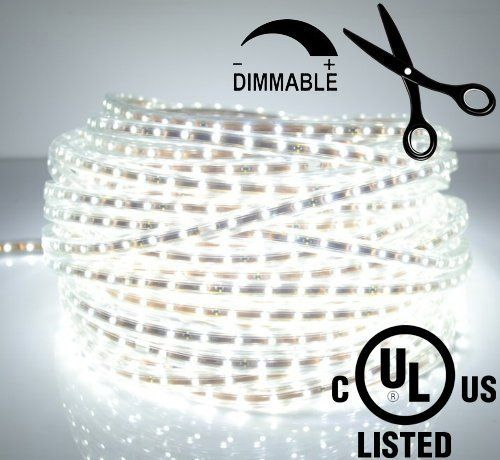 LEDJump® Bright Pure White Dimmable Linkable 300SMD LED Tape Ribbon Flexible Strip Lights 16.4 Ft 12v3M Adhesive Back Energy Saving Low Voltage Certify ...  sc 1 st  Pinterest & LEDJump® Bright Pure White Dimmable Linkable 300SMD LED Tape Ribbon ...