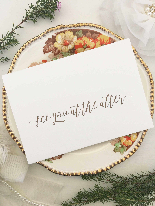 Card for groom gift for bride gift for groom card for