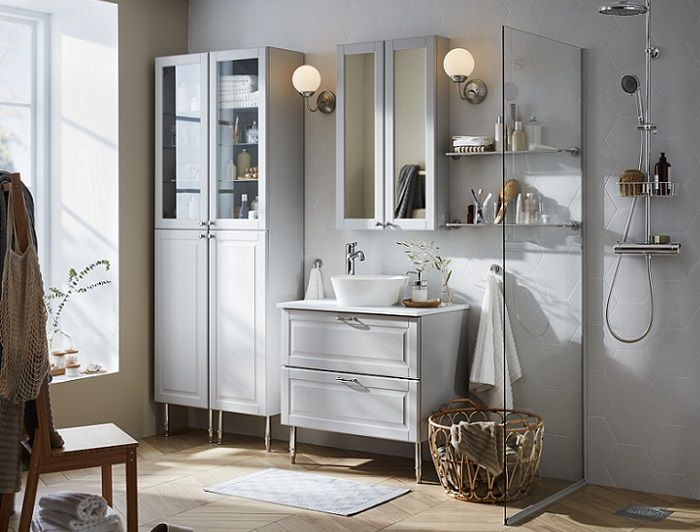 Baños estilo nórdico con Ikea   Muebles de baño, Diseño de ...