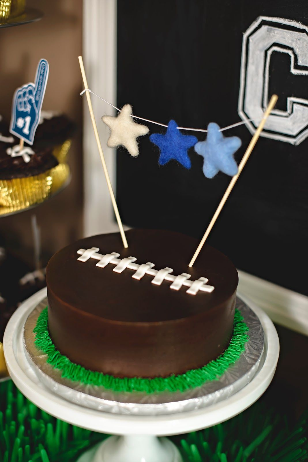 Baby S First Birthday Boy Football Party Super Bowl Party