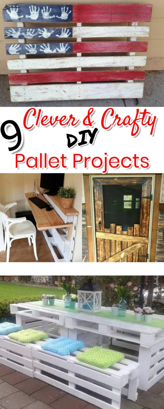 Pallet projects 19 clever crafty and easy diy pallet ideas solutioingenieria Choice Image