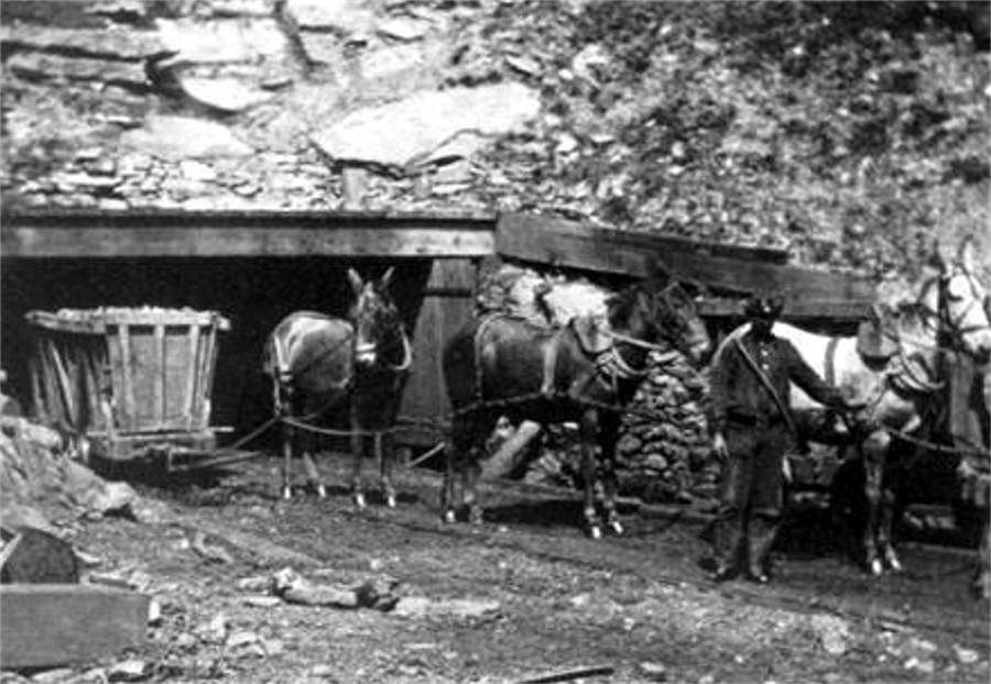 Coal Mining In The Early 1800s Pittsburgh In 2019