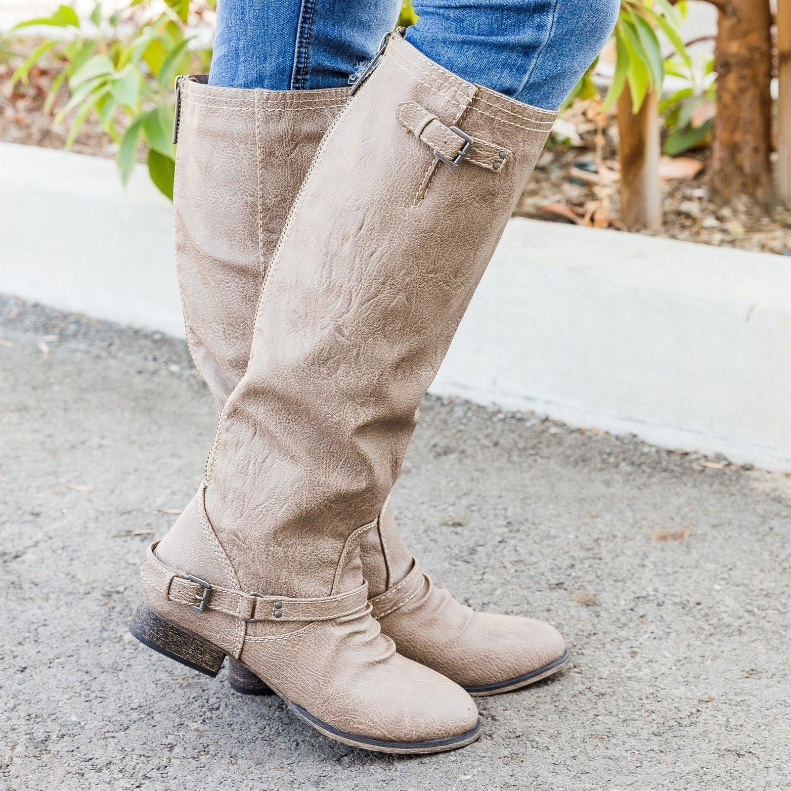 5915d77b7f9 Scrunch Riding Boots Clearance