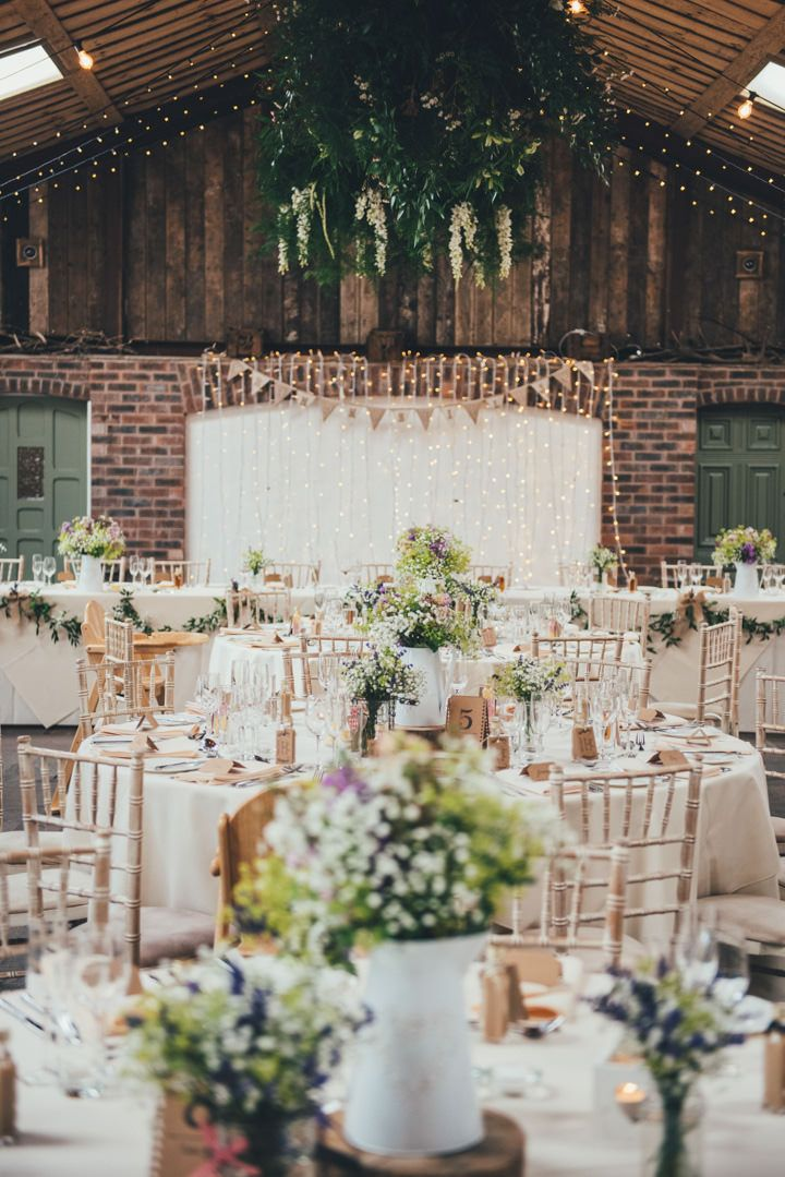 Sophie and David's Pretty Pastel Country Barn Wedding in Cheshire by Nicola Thompson