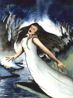 La Llorona Folklore Villains Wiki Fandom Powered By Wikia La Llorona Llorona Flatwoods Monster