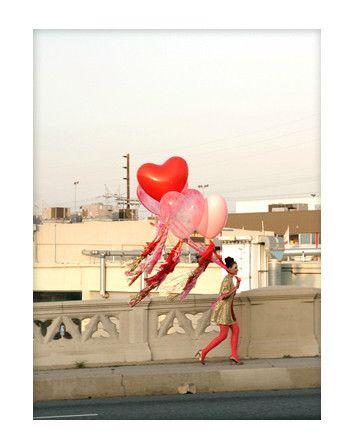 Geronimo Balloon Troopers :: ceremony back drop?