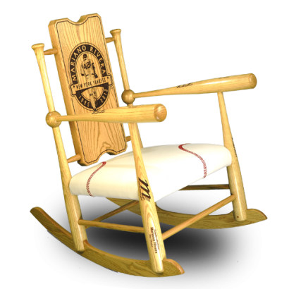 Baseball Rocking Chair