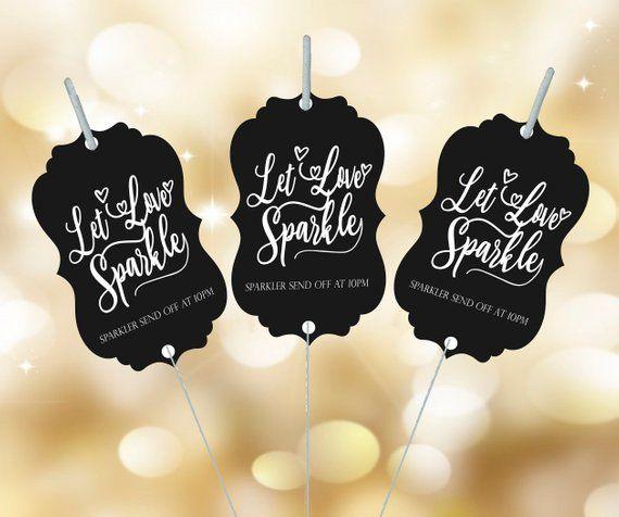 Download Sparkler tag Sparkler send off Let love Sparkle Wedding ...
