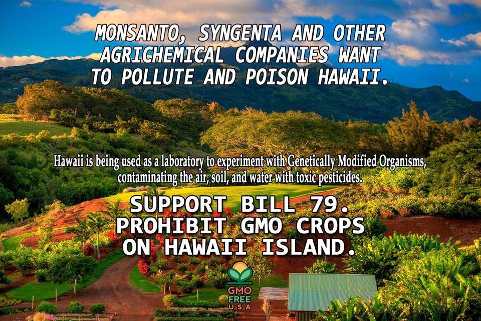 Support Bill 79 - Non GMO