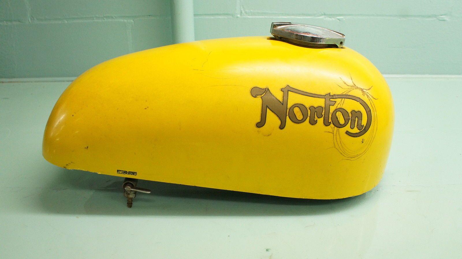 Brilliant Norton roadster commando tank