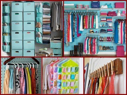 closet organizing ideas diy 30 diy organization room and storage 8