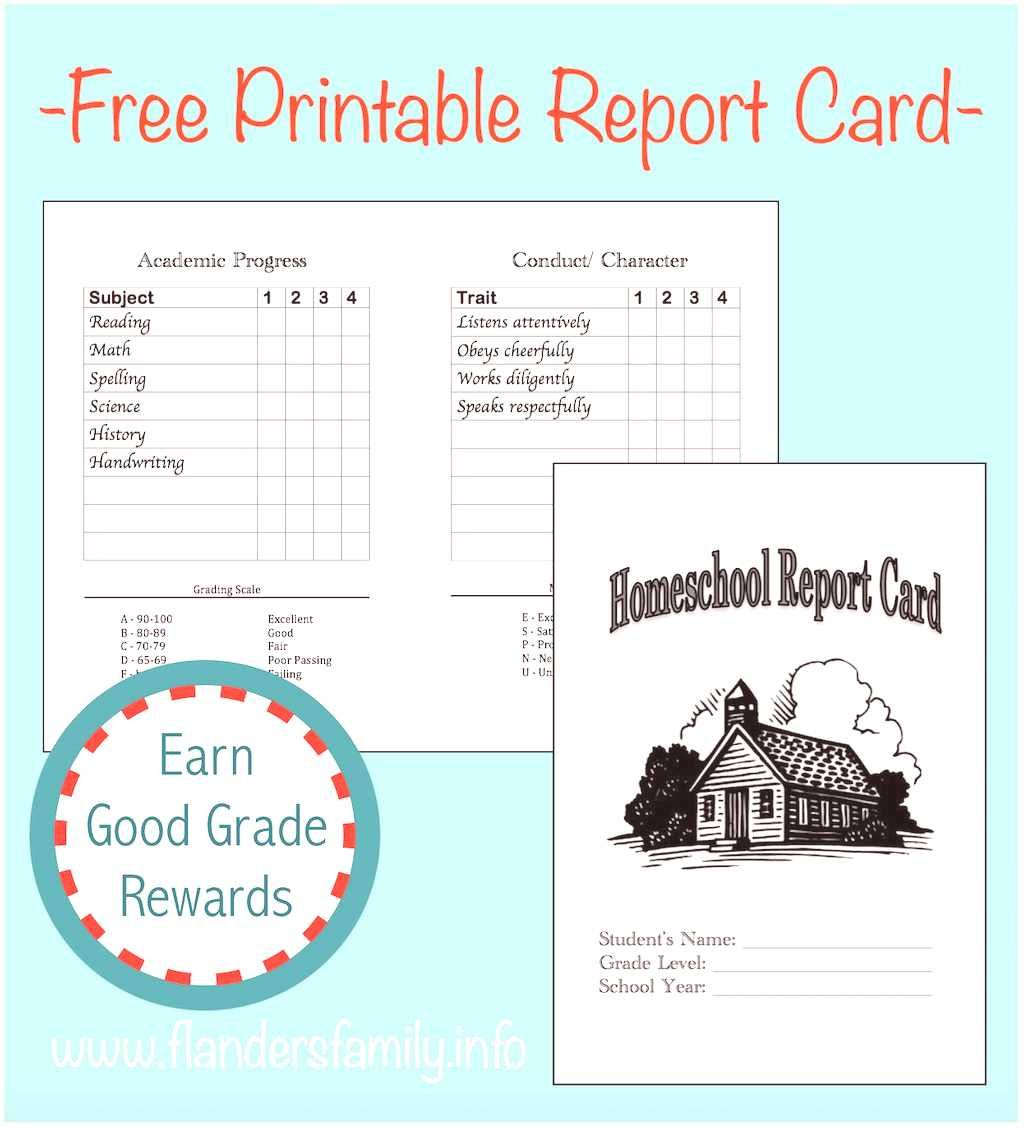 Homeschool Intended Flanders Template Homelife Parts Family Report Images Cards Be School Report Card Report Card Template Homeschool Middle School
