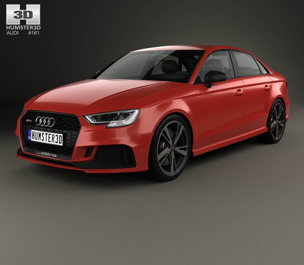 Audi RS Sedan D Model From Humdcom Audi D Models - Audi base model