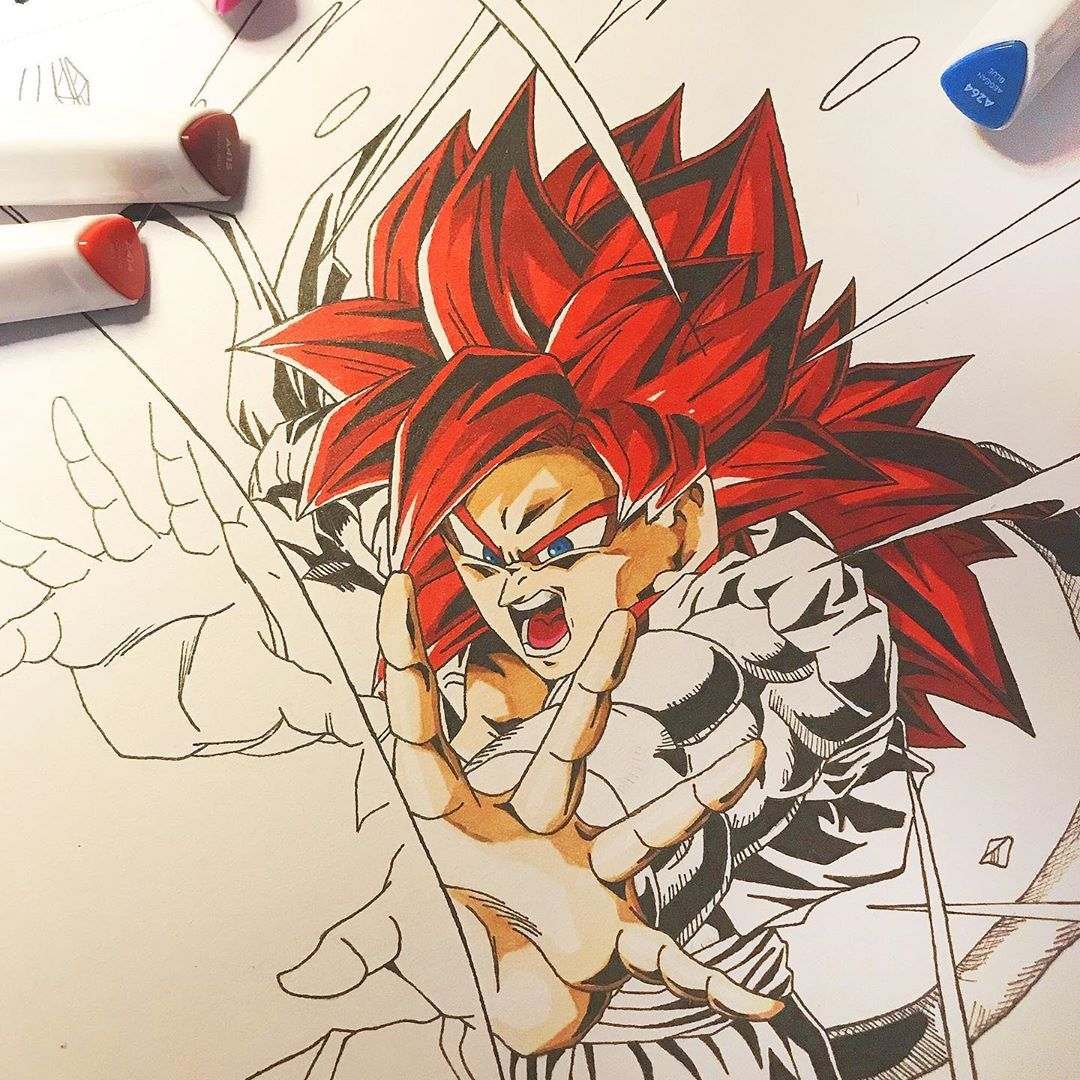 - Work in progress  I've done hair and skin. What do you think ?  ... Final work... #anime #animeart #animeartist #animedraw #animefeatureworld #art_4anime #arteza