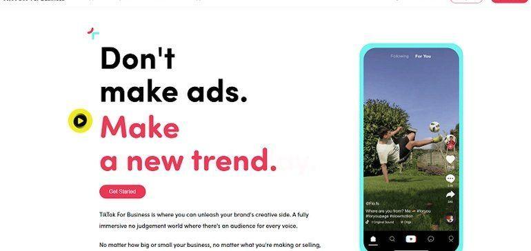Tiktok Launches Tiktok For Business Platform For Marketers Network Marketing Business Network Marketing Attraction Marketing