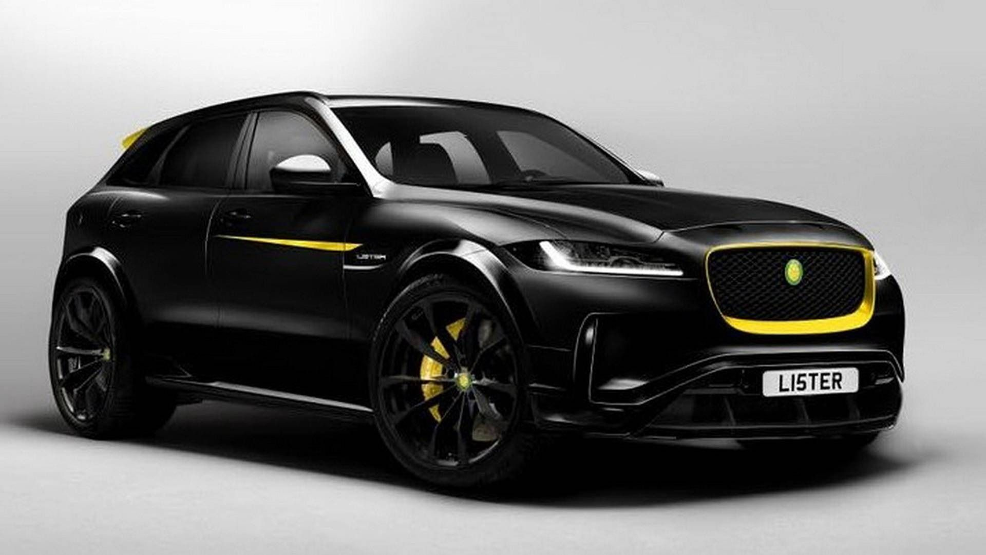 Lister Lfp Previews Their Fastest Suv In The World With 670 Hp 500 Kw Suv Jaguar Car Jaguar
