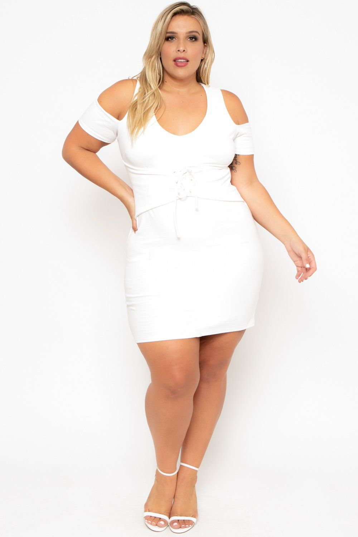 Plus Size Fantasia Dress White Curvy Sense Plus Size Outfits Skirt Fashion Plus Size Dresses [ 1500 x 1000 Pixel ]