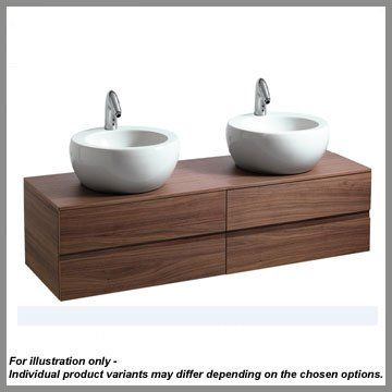 Perfect The Laufen Il Bagno Alessi One 160cm Vanity Unit Is A Stylish And  Contemporary Bathroom Unit