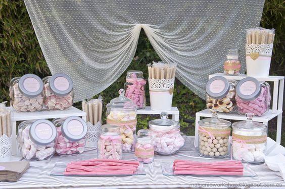 candy bar rose d coration en 2019 candy bar mariage. Black Bedroom Furniture Sets. Home Design Ideas