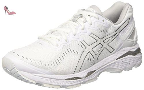 chaussures asics homme blanc